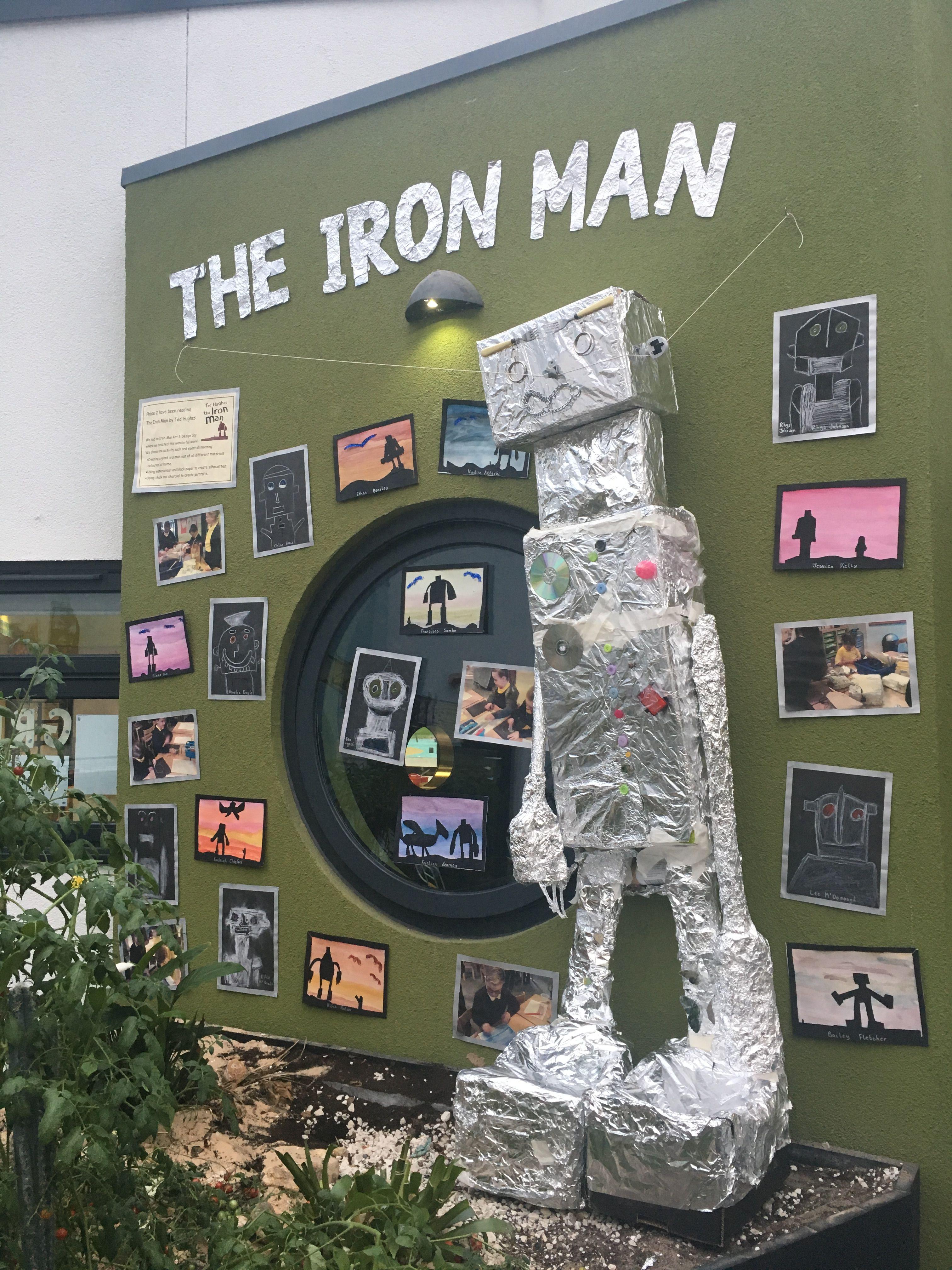 The Iron Man Display Year 3 4