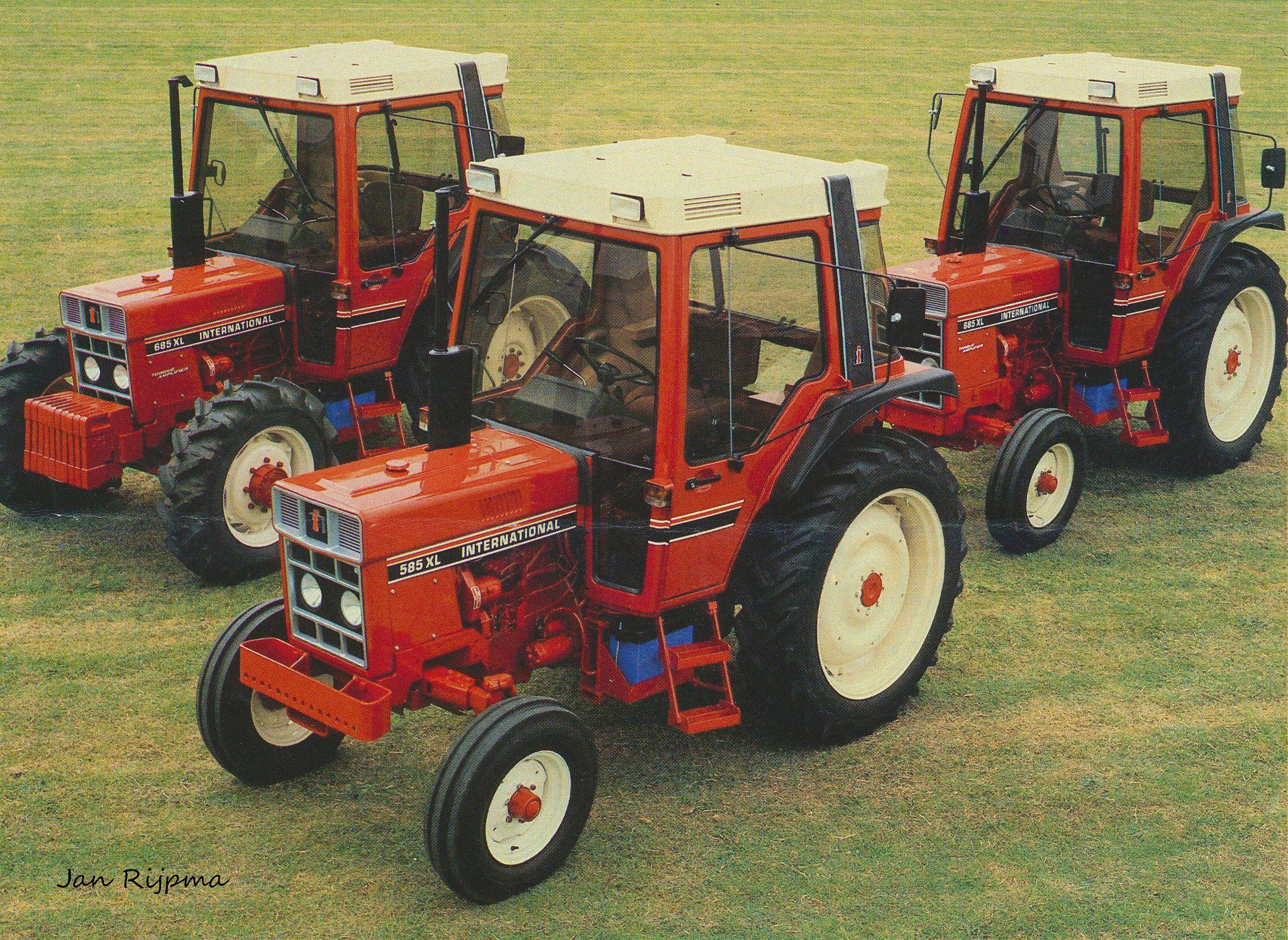 International 585 Xl En 2x 685 Xl International Tractors Classic Tractor Tractors