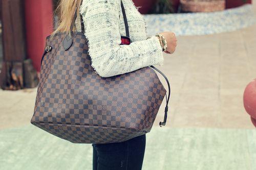 Louis Vuitton Neverfull Damier Ebene GM #Louis #Vuitton #Neverfull
