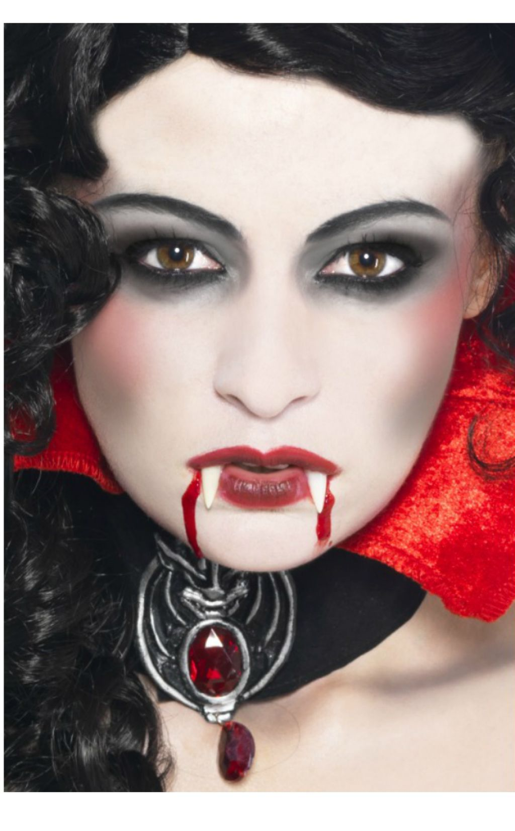 Vampire Makeup Complete The Perfect Vampire Costume With A Vampire Makeup Set Halloween Make Skelet Make Up Make Up Diy