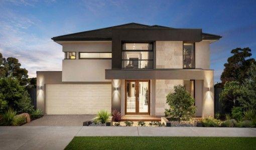 Casa moderna de dos plantas fachadas - Casas de dos plantas ...