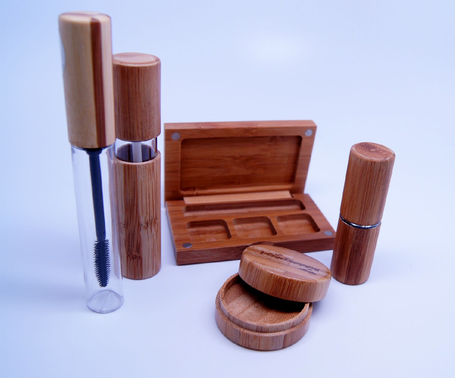 Ecofriendly Bamboo Cosmetic Packaging Biodegradable