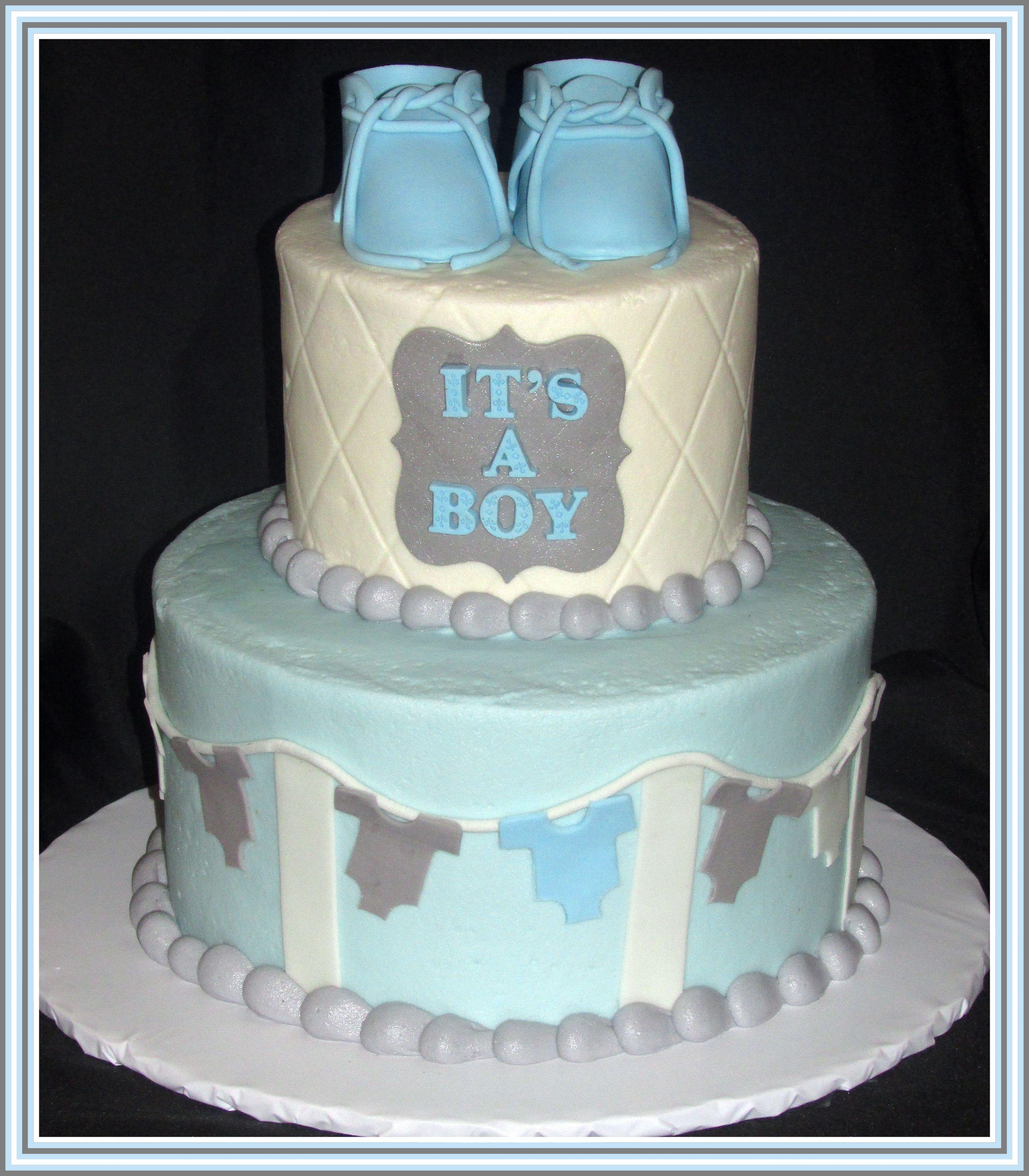 Its A Boy Baby Shower Cake