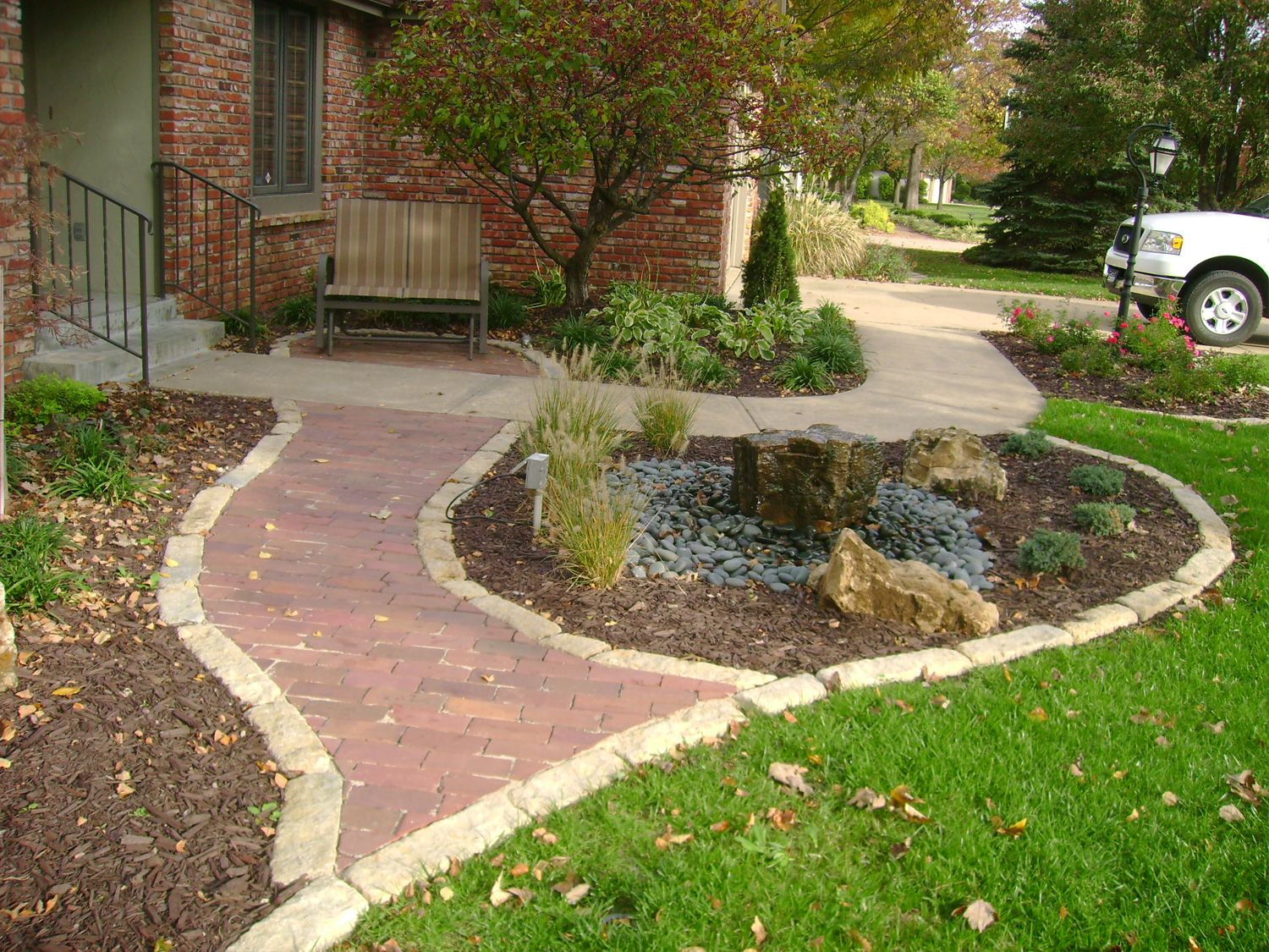 Landscaping Quotes Custom Walkwaycall Joyner Landscaping For A Quote Reference