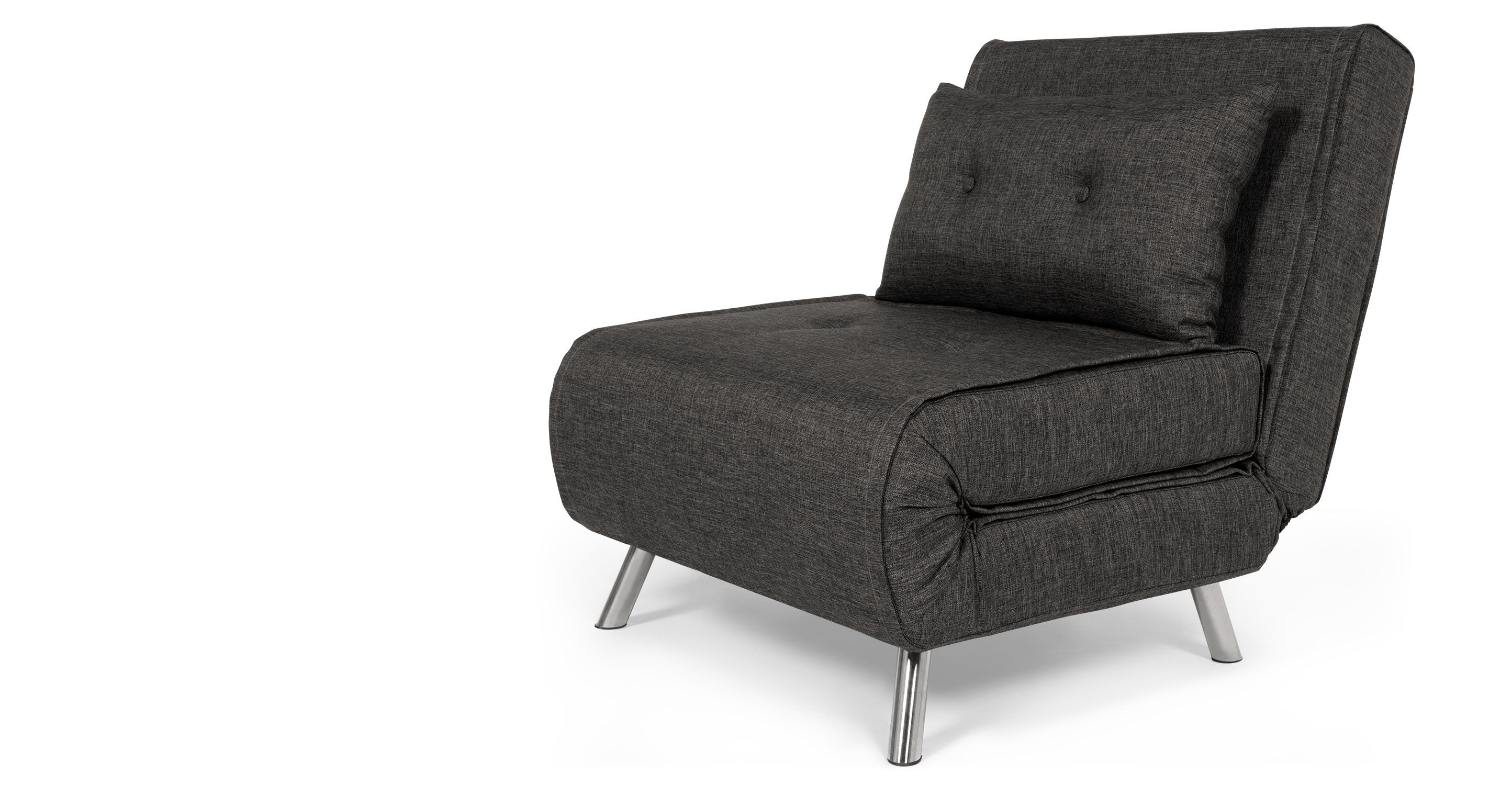 Haru Single Sofa Bed Cygnet Grey Overstuffed Chairs Sofas Accent Design