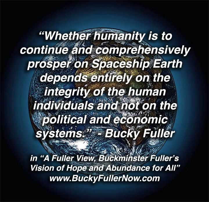 Image result for spaceship earth quotes