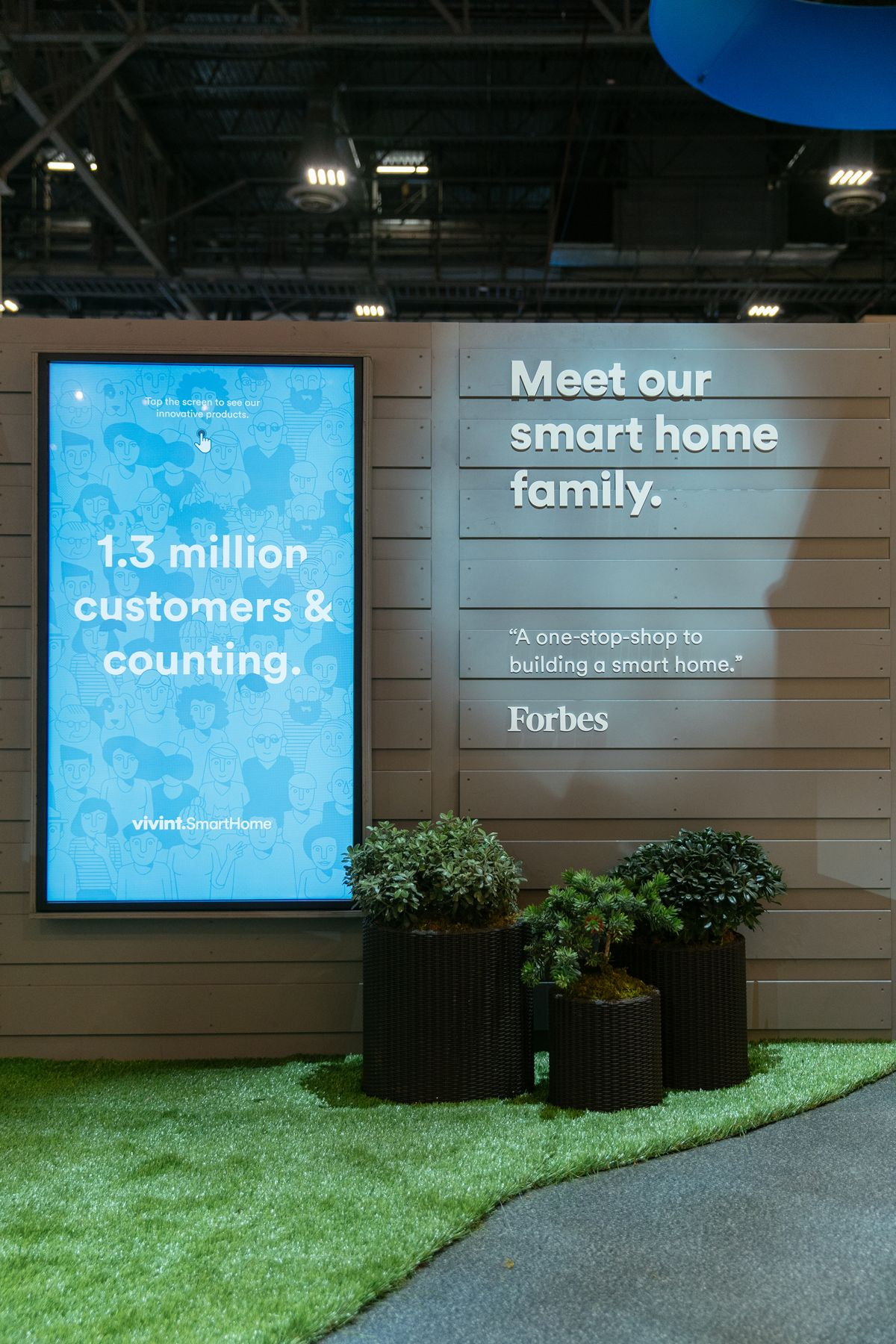 Explore the Vivint Smart Home Booth at CES 2018 Smart