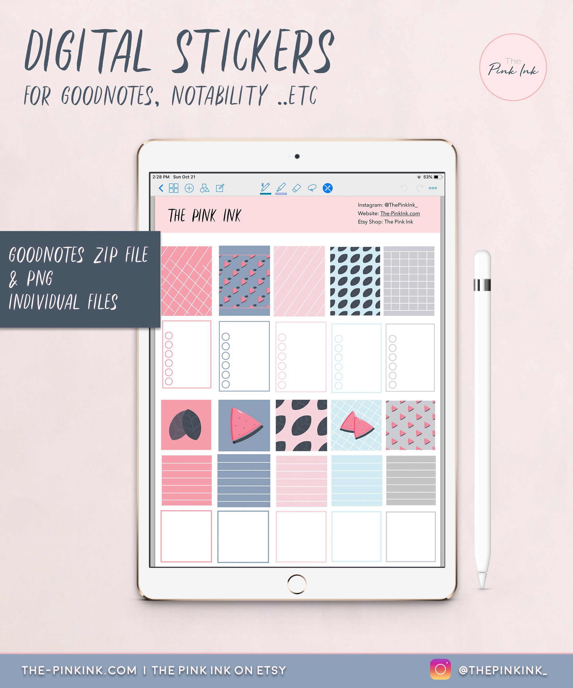 Pin by ThePinkInk on Stickers | Planner stickers, Stickers