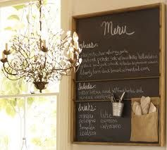 Chalkboard ideas...love the little tin to hold the chalk