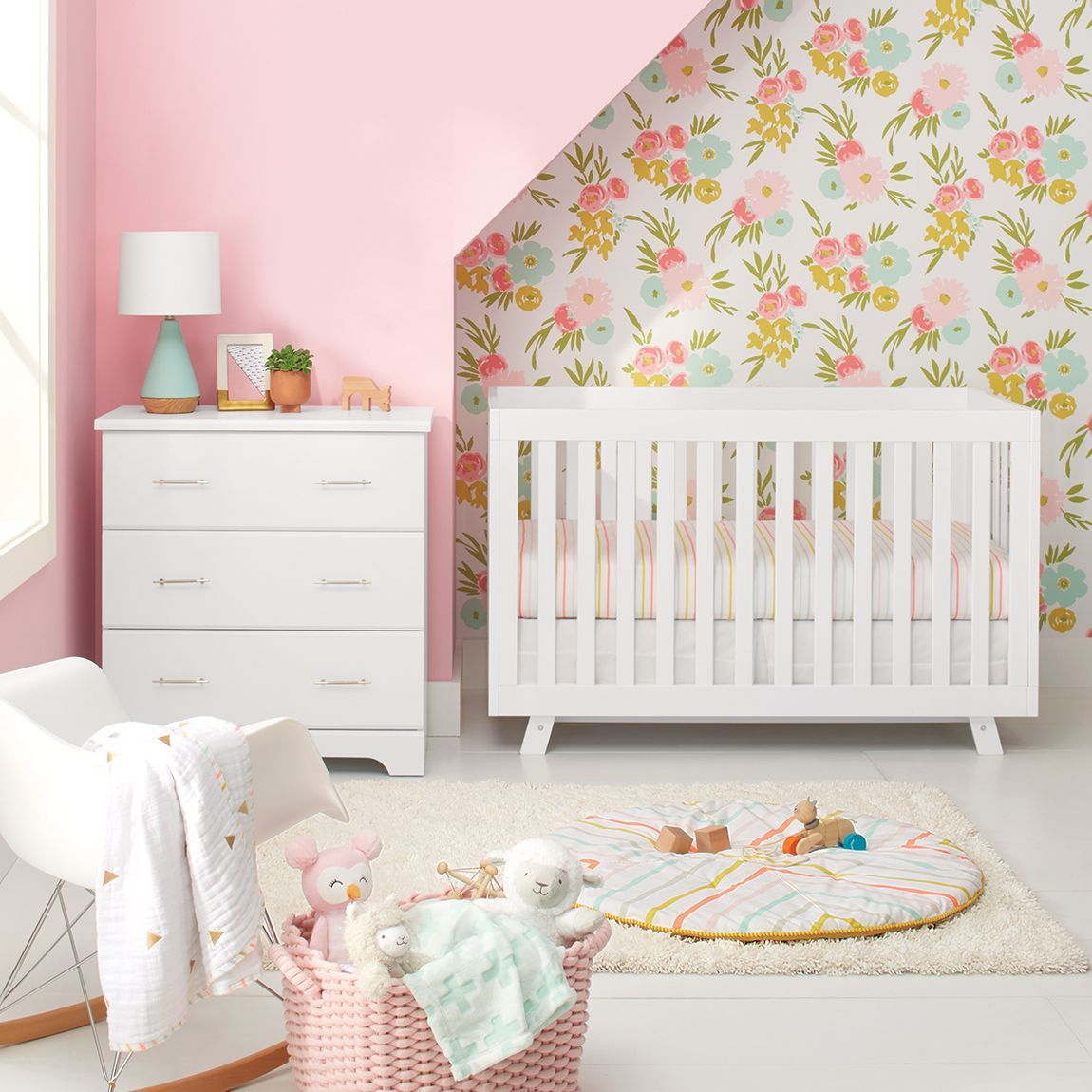 Shop For Wallpaper At Target Find Textured Beadboard Self Adhesive And Paintable Wallpaper Free Shipping Retur Crib Bedding Crib Bedding Sets Bedding Set