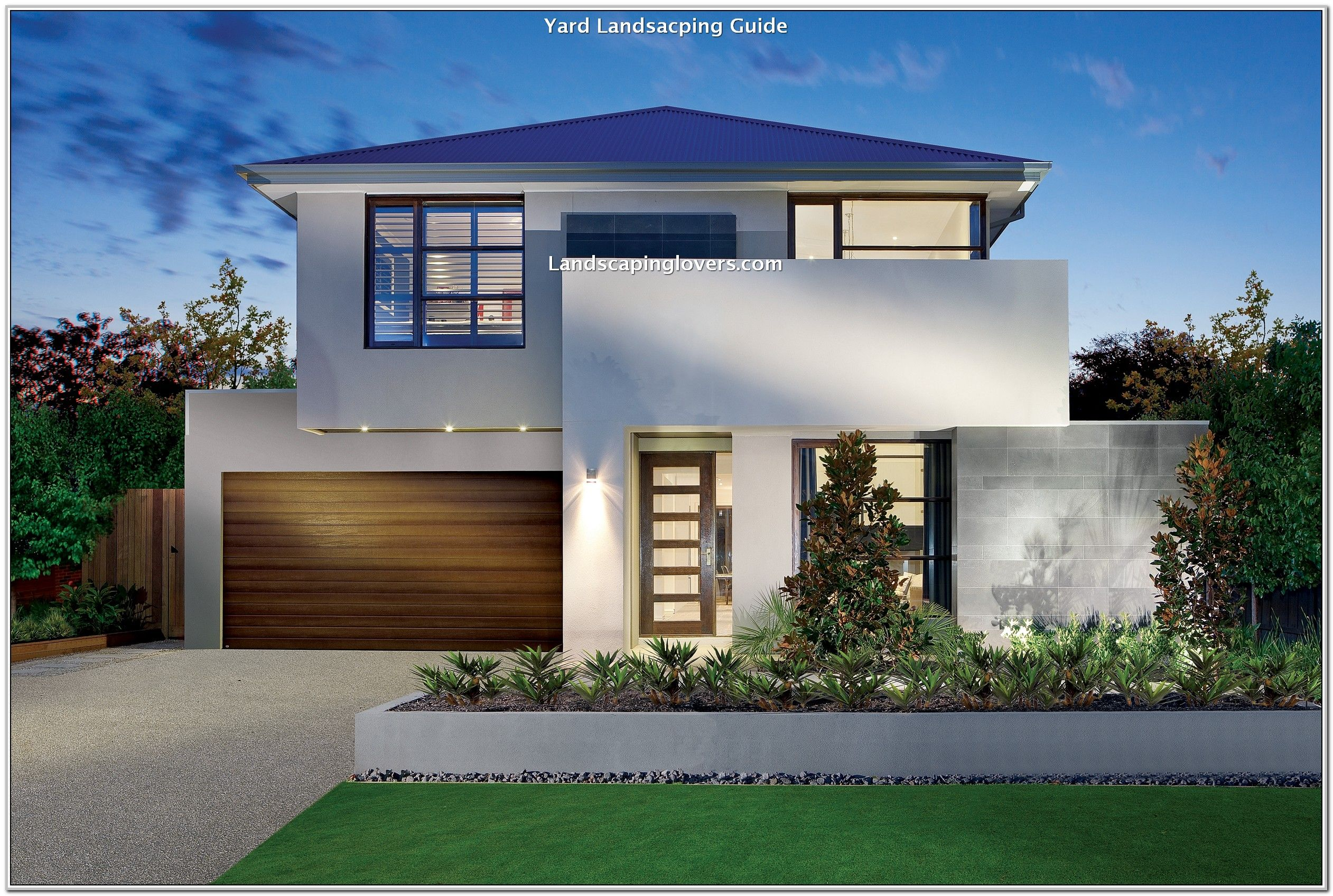 Simple Way To Make The Most Of Your Landscape Landscaping Lovers Modern Villa Design Beautiful House Plans Contemporary House Design