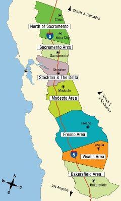 california central valley google search california regions