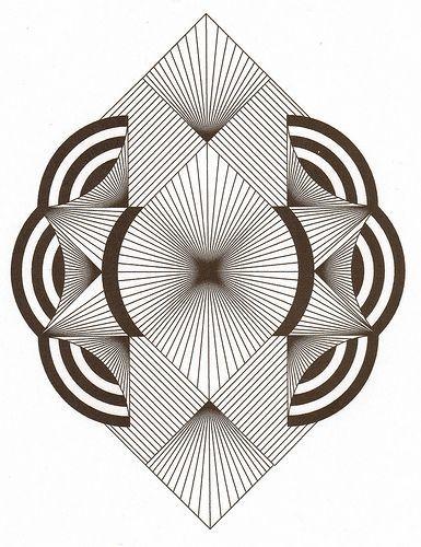 Zentangle Ala Art Deco Flickr - photo release! #flickr #