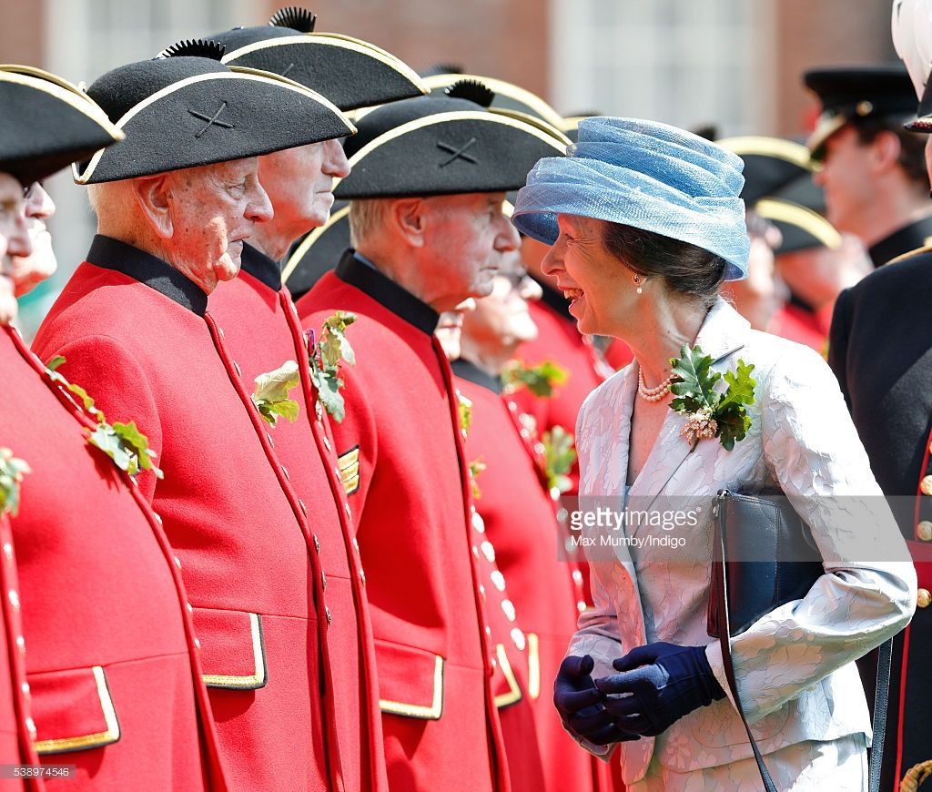 Founder\'s Day At The Royal Hospital Chelsea | Princesa ana y Princesas