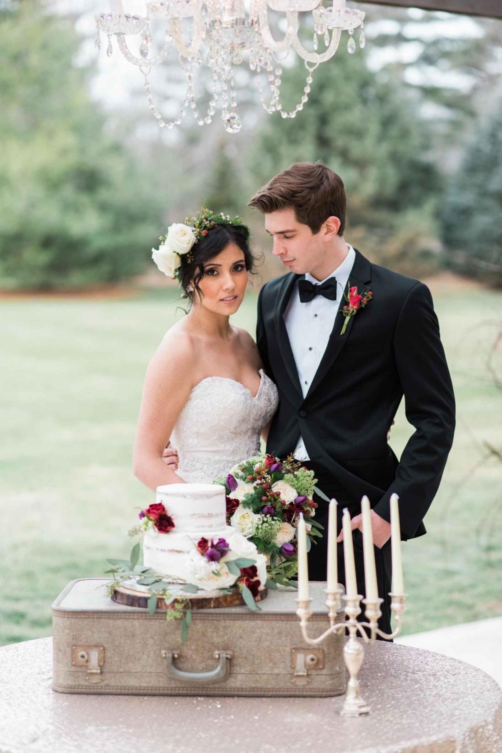 A Winter Style Shoot in Fort Wayne   WeddingDay Magazine
