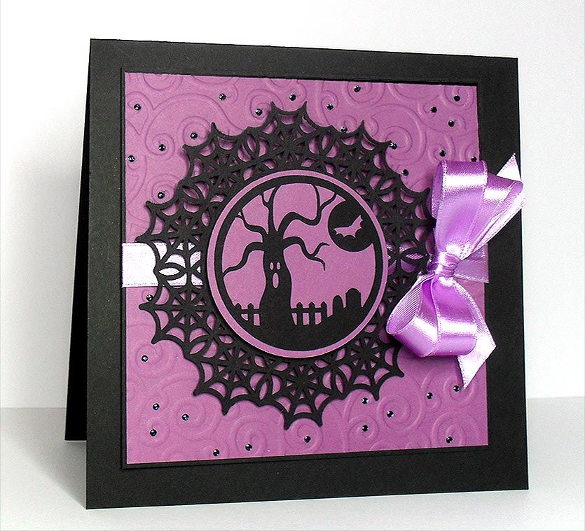 Spooky Card Free Digi Halloween Stamps On Site