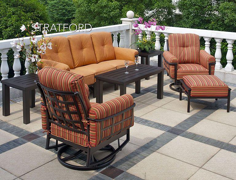 stratford hanamint patio furniture