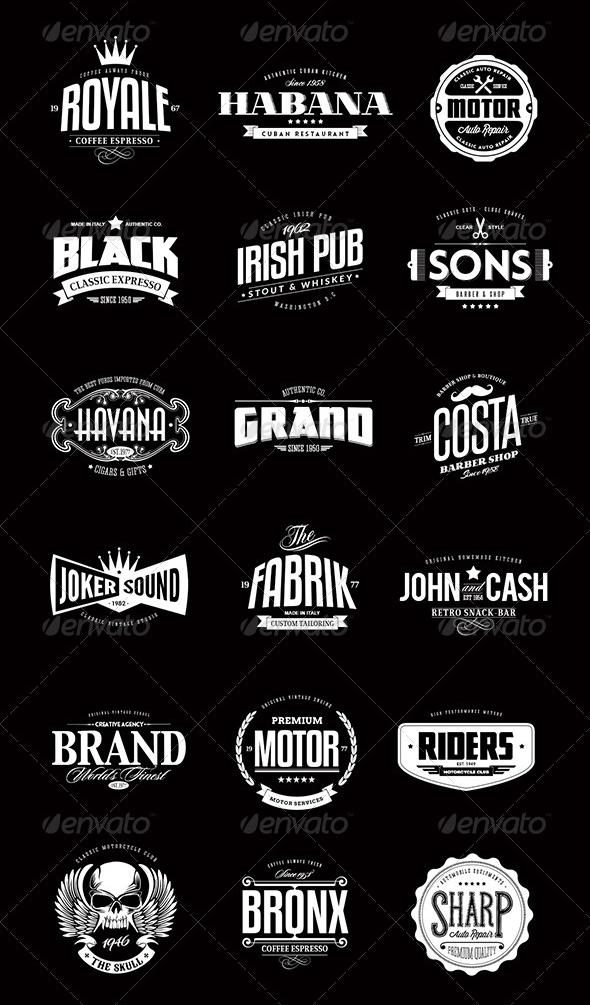 Typographic Badge Google Search Vintage Logo Design Graphic Design Logo Vintage Logo