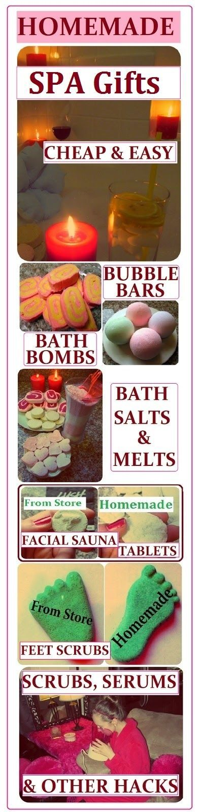 Spa Product Recipes: Bubble Bars, Bath Bombs, Salts, Melts, Scrubs, Serums & Lotions. How to Make them CHEAP, EASY & QUICK Homemade Gift Ideas for Saint Valentine's Day, Birthday, Mother's Day or Christmas