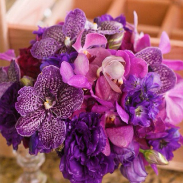 Best 25 Orchid Wedding Bouquets Ideas On Pinterest