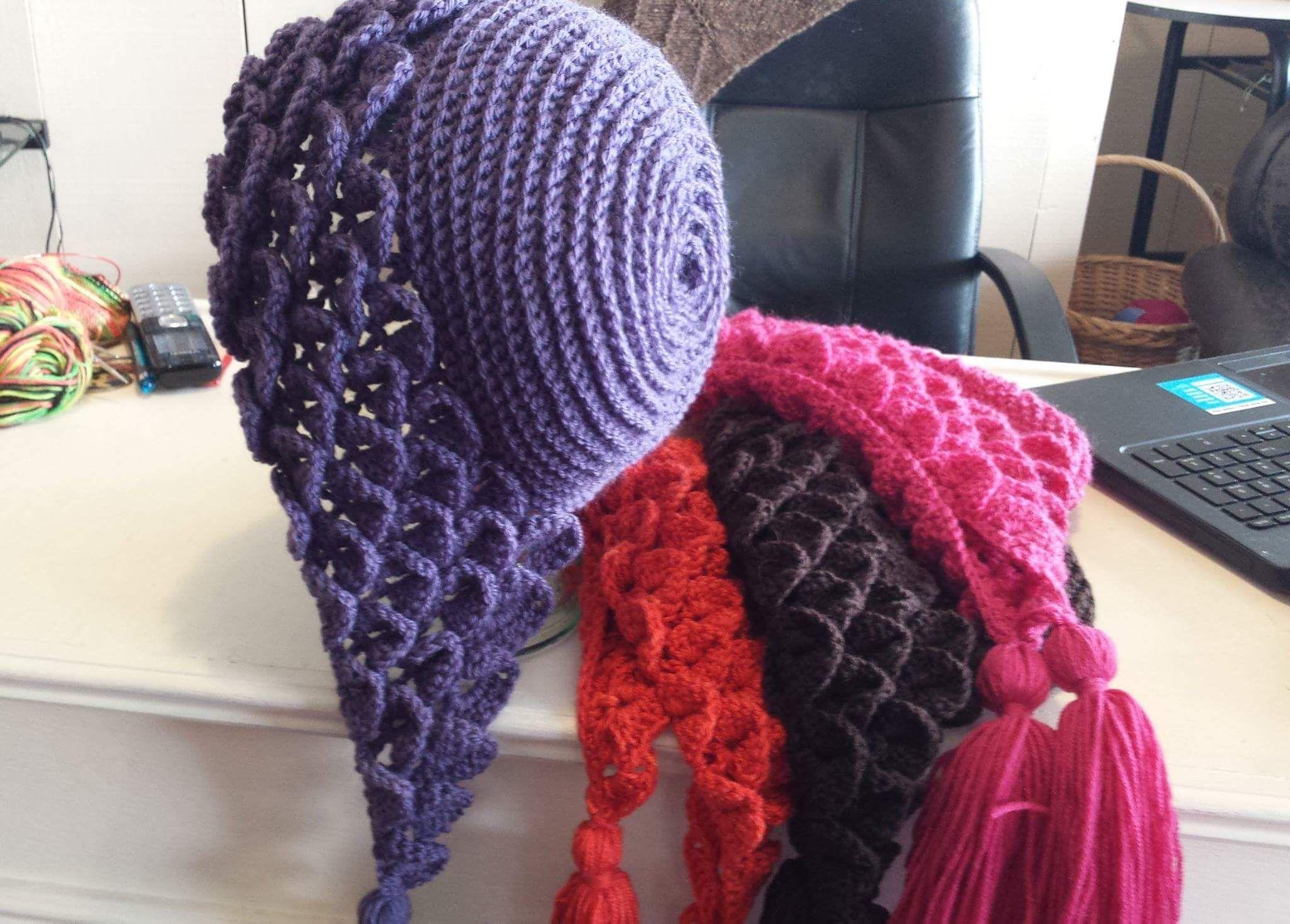 Interlocking Crochet™ - Honeycomb & Railroad Tracks Design