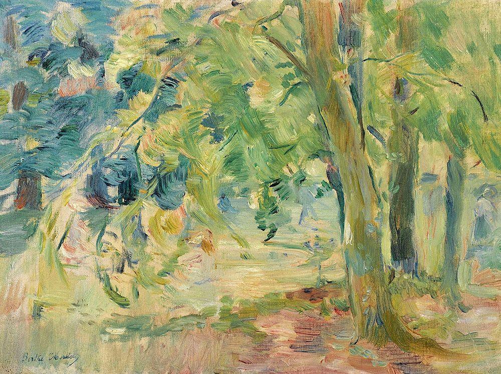morisot berthe the forest of mesnil 1892 sotheby | | Berthe morisot,  Morisot, Art