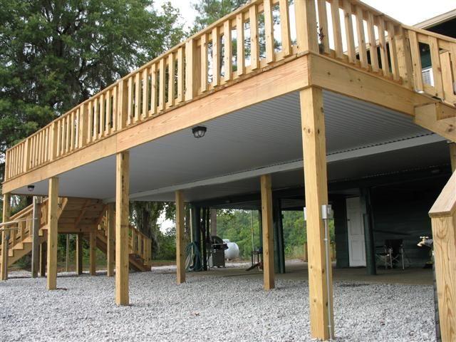Best Under Deck Roofing Building A Deck Under Deck Roofing 400 x 300