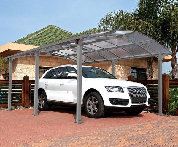 Garden Shade Structure Metal Car Port Canopy Garage Outdoor Protection Cover Big & Shade Structure Metal Car Port Canopy Garage Outdoor Protection ...