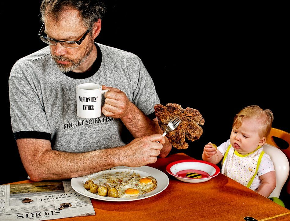 World's Best Father Photo Project by Dave Engledow