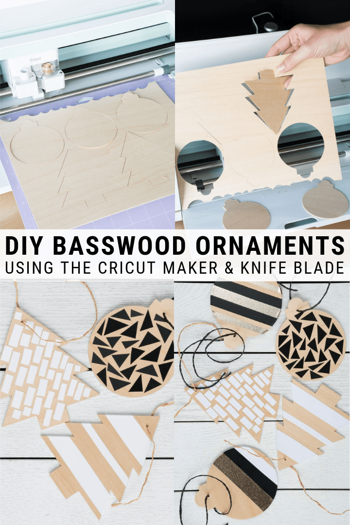 DIY Basswood Christmas Ornaments - ToolBox Divas