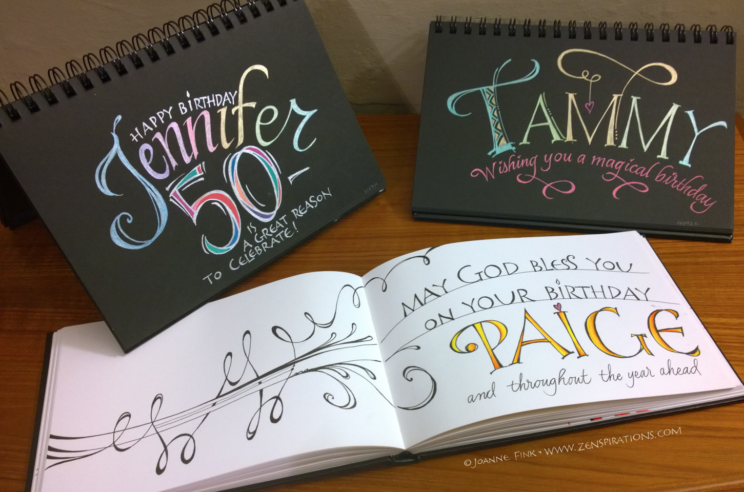 Check out the cool Celebration Journals on this week's Zenspirations - BLOG