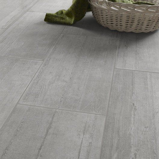 Carrelage int rieur industry en gr s c rame maill gris for Choix carrelage sol