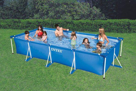Fresh INTEX Frame Pool Set Family xxcm Garten Schwimmbecken Schwimm Bad