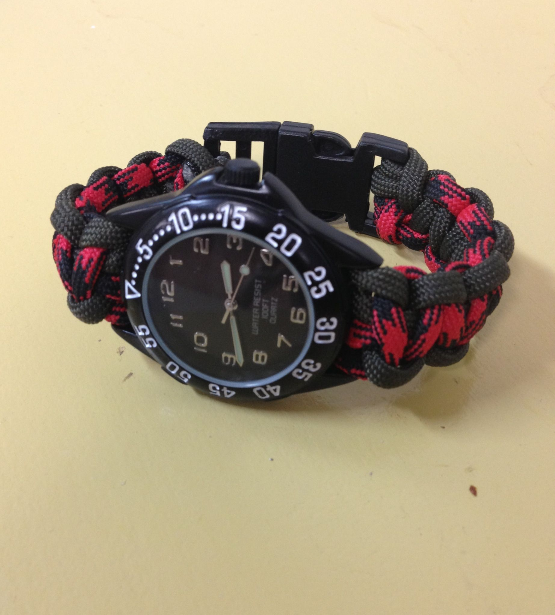 How To Make A Paracord Watchband Paracord Watch Bands