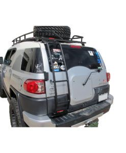 Toyota Fj Cruiser Ladder 183 With Spare Tire 183 Driver Side