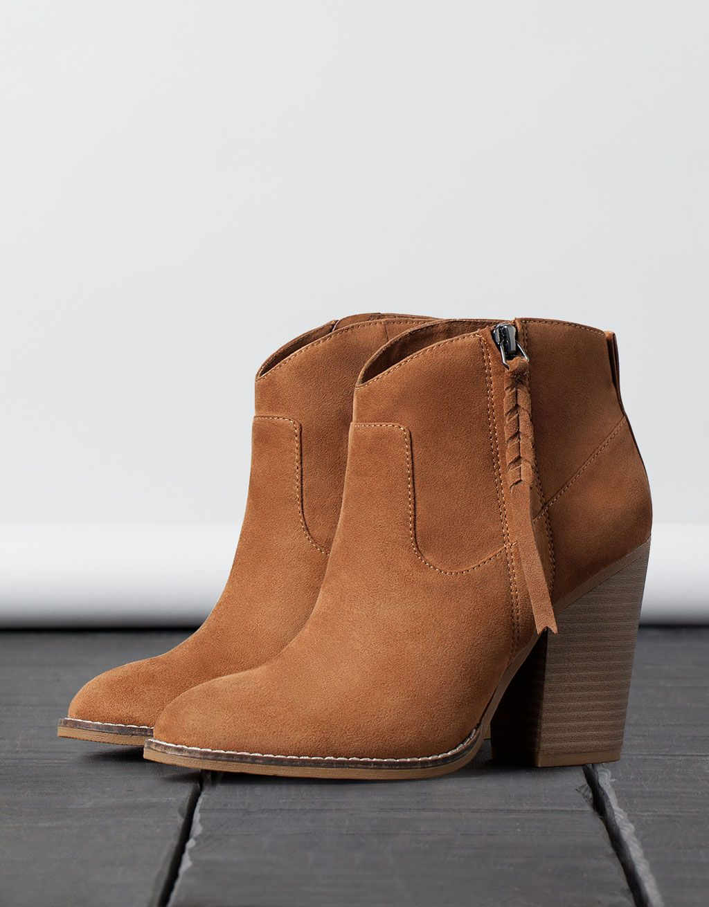 3ae6ed45 Botín Campero Trenza en 2019 | Shoes | Botas, Zapatos bershka y Zapatos