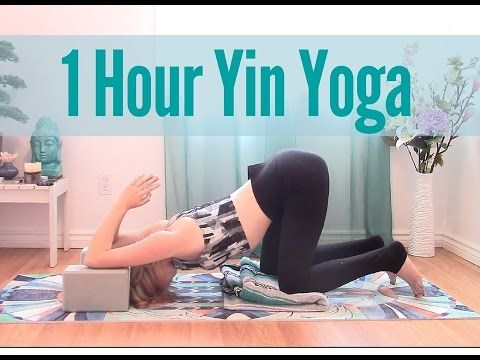 1 Hour Yin Yoga Full Class - All Levels Total Body Stretch