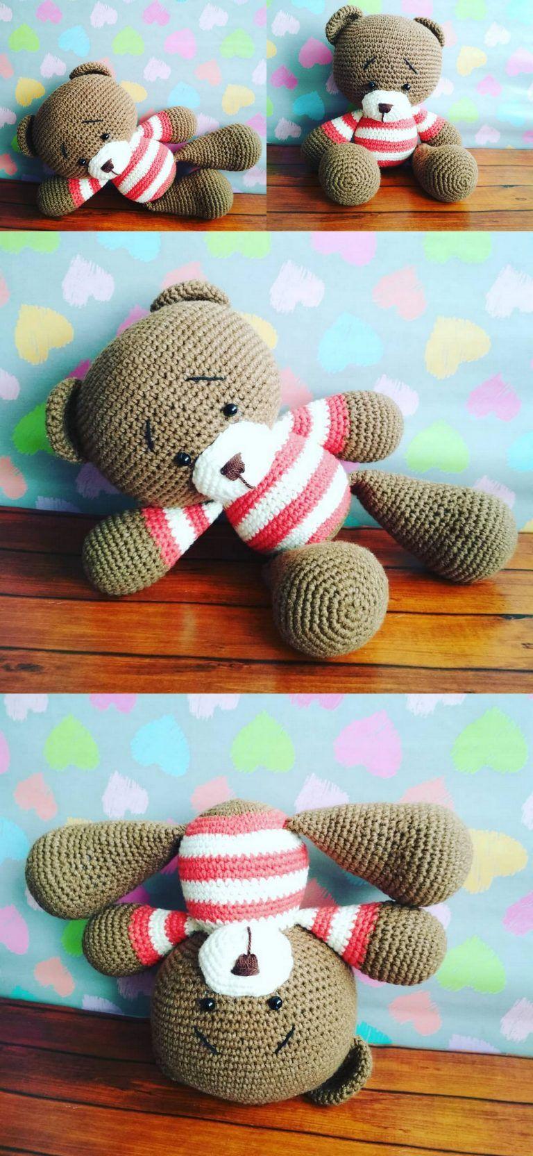 Paso a paso garu y pucca #amigurumi #crochet #creativas #c… | Flickr | 1664x768