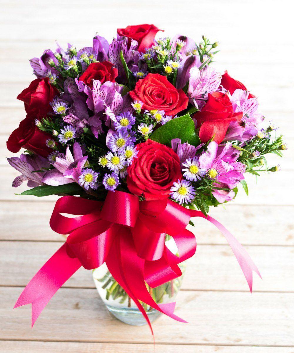 Rosy Romance Floral bouquets, Flower gift, Flowers bouquet