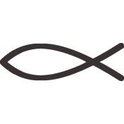 Jesus Christ Digital Clip Art Christian Clipart Fish Sign Etsy Christ Symbol Digital Clip Art Set Christian Symbols