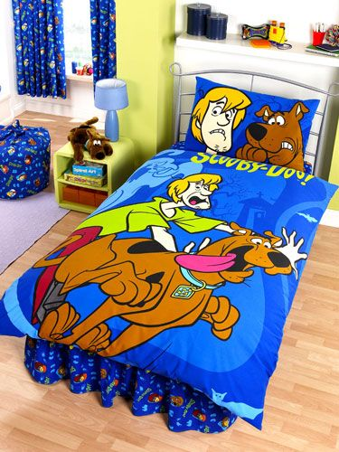 Scooby Doo Duvet Cover And Pillowcase Y Design Bedding Size 137cm X 200cm 54in 78in 50cm 75cm 19in 29in