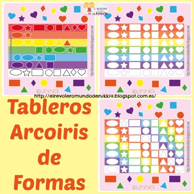 Juego para aprender formas, learning shapes game.