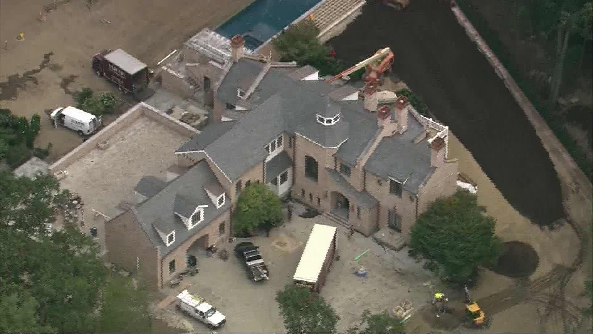 First Look Brady Bundchen Brookline Mega Mansion Boston House
