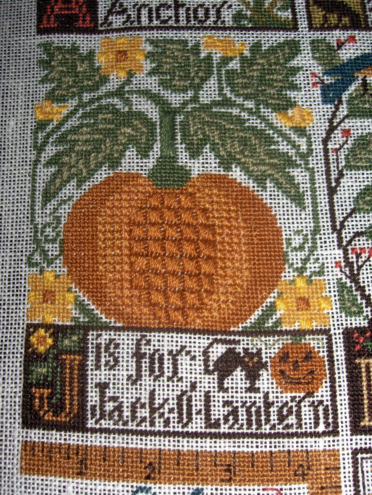 Prairie Schooler Abc Stitching Bee J Is For Jack O