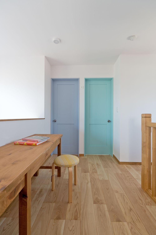 子供部屋のドア インテリア 北欧インテリア 自宅で