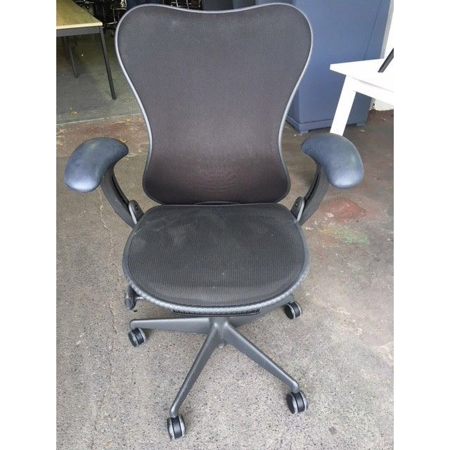 second hand herman miller mirra chair graphite next day delivery rh pinterest com