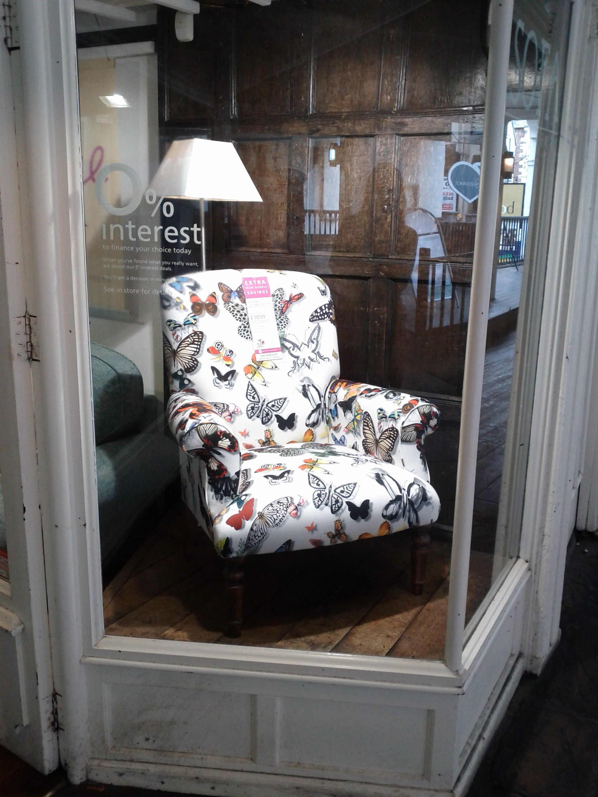 Good Butterfly Print Chair At The Sofaworkshop.com