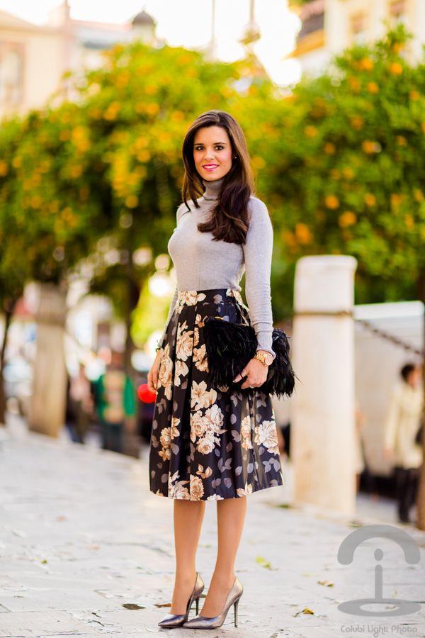 13aa077096 tendencia falda midi skirt trend Crimenes de la Moda