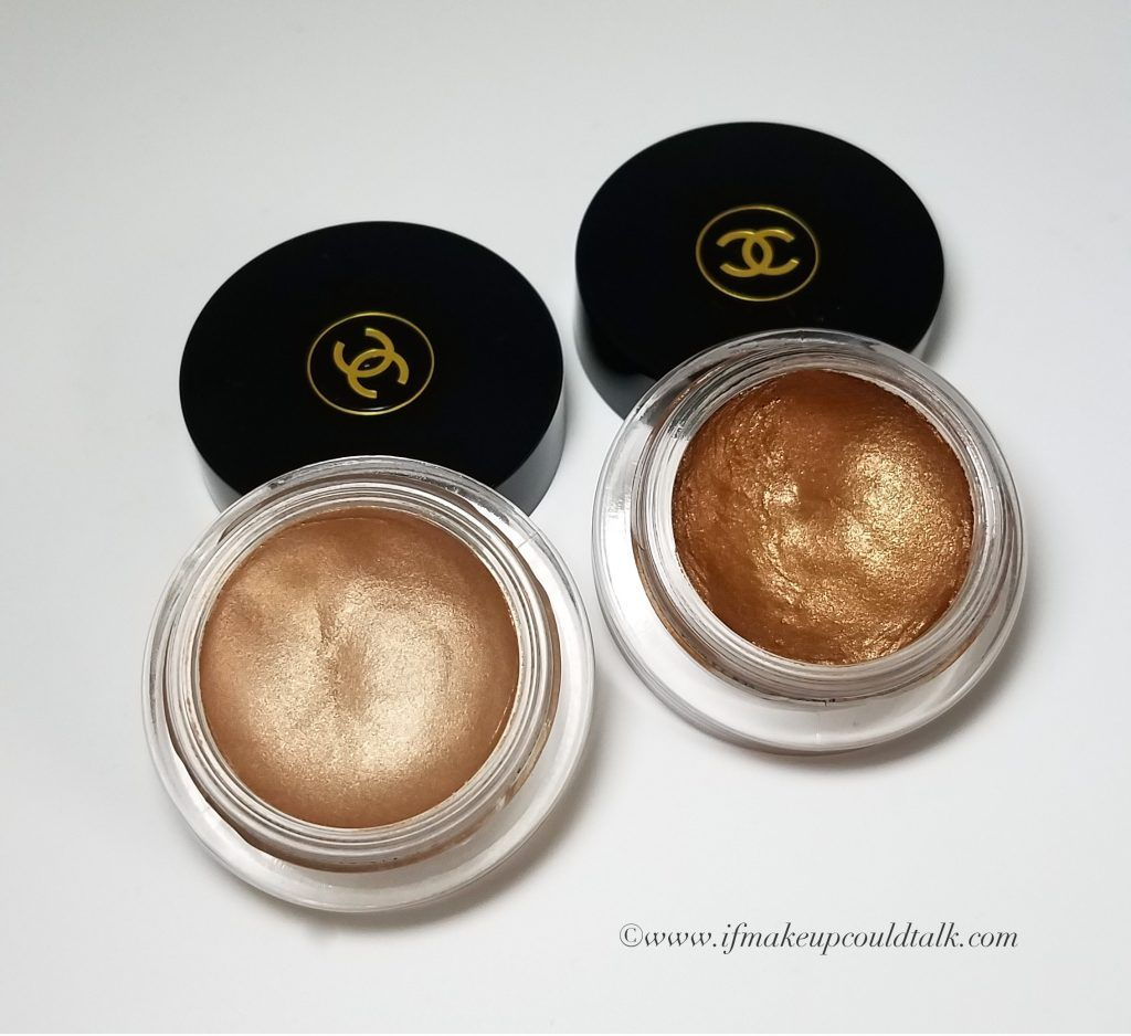 80b107b8948b Chanel Ombre Premiere Longwear Cream Eyeshadows 802 Undertone and 806 Terre  Brûlée.