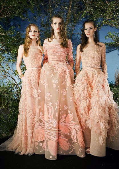 Backstage at Elie Saab Couture Spring 2015 Show